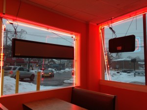 interior of more than pizza new haven pizza shop