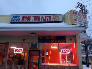 More Than Pizza storefront new haven pizza shop