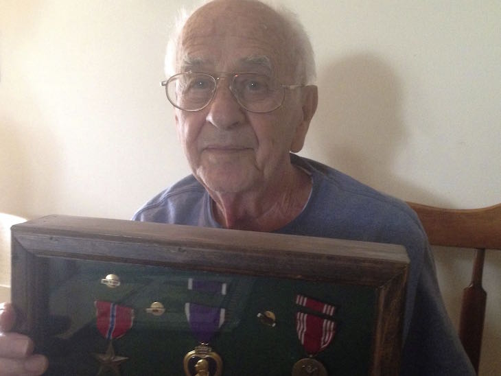 '...When we fought in [the] Battle of the Bulge'