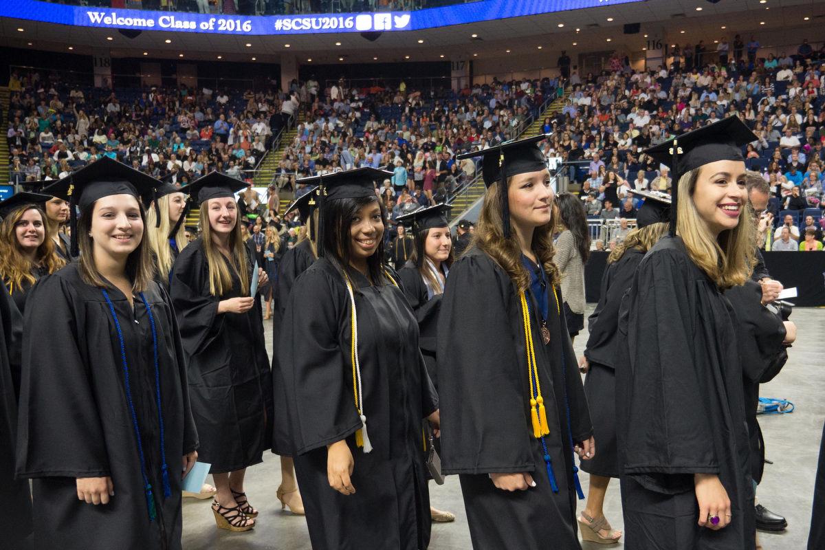 Journalism students graduate