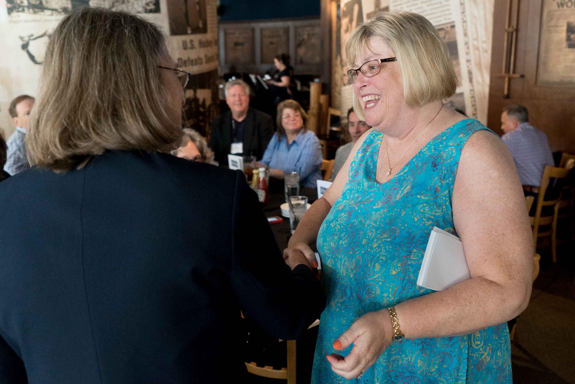 Cindy Simoneau named SPIG Teacher of the Year