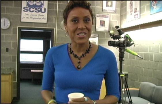 Robin Roberts' career path and message to future journalists