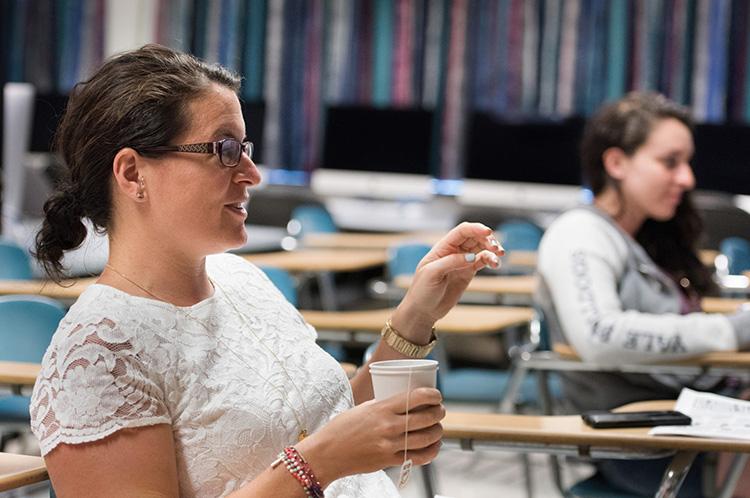 Journalism department hosts high school teacher and student workshops