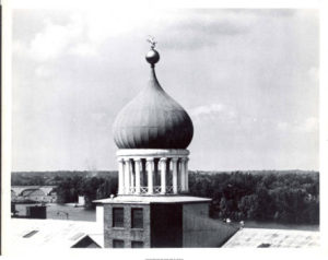 Onion-shaped dome of Colt Armory Photo Credit: Connecticut State Library