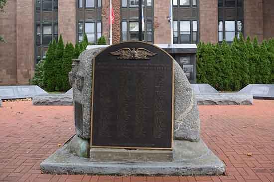 Bridgeport monument wasn't always popular
