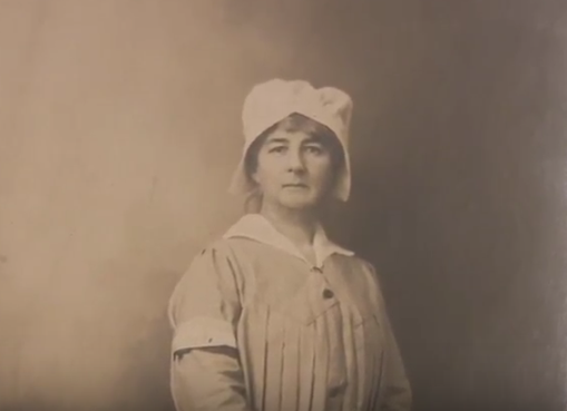 American woman helped French troops before the United States joined WWI