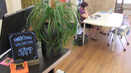 New Haven co-working space pairs workers with an office