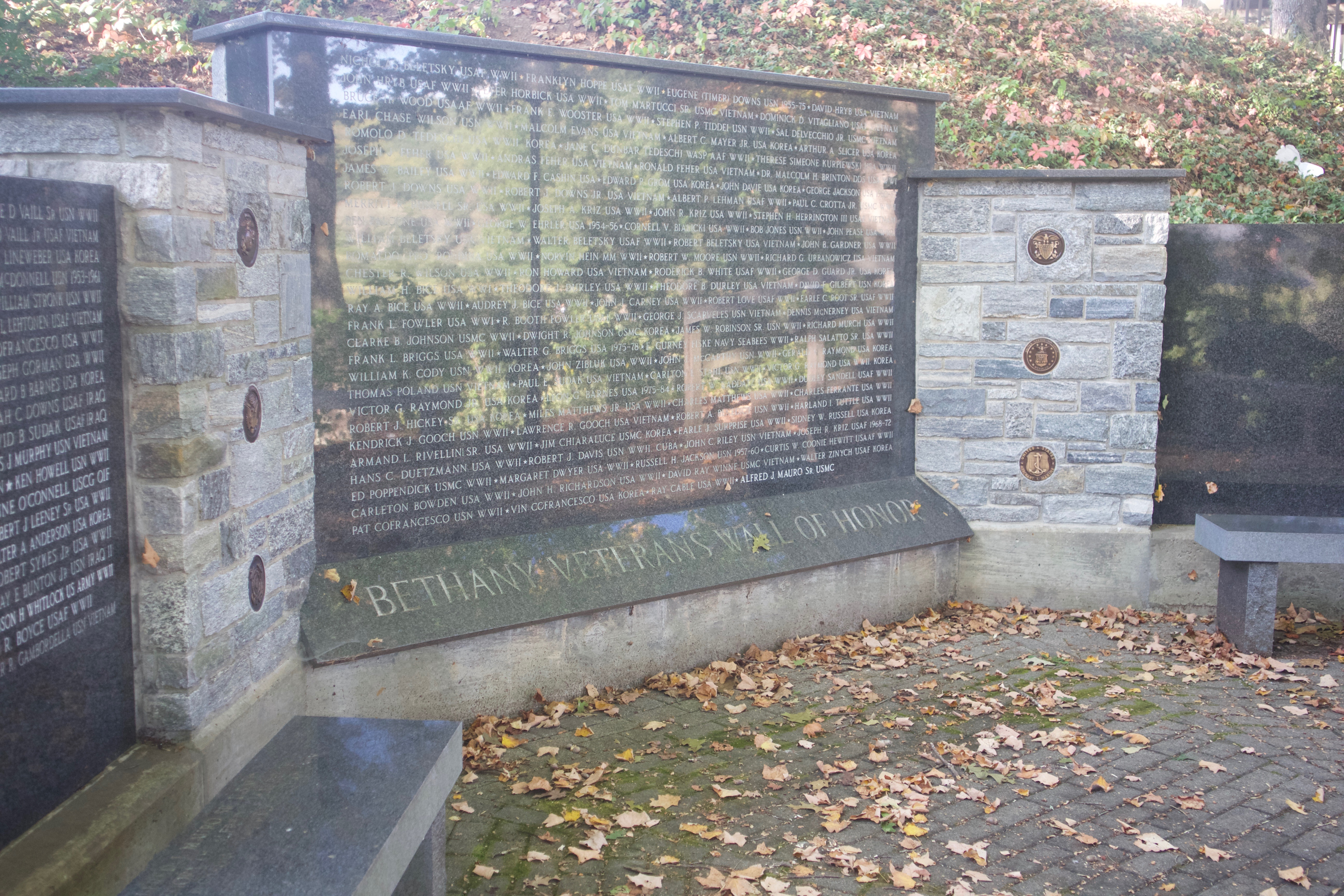 Bethany monuments honor WWI service