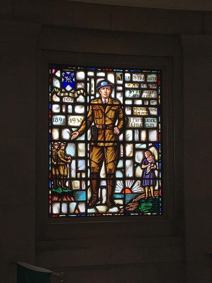 Light shines through Hamden WWI hero