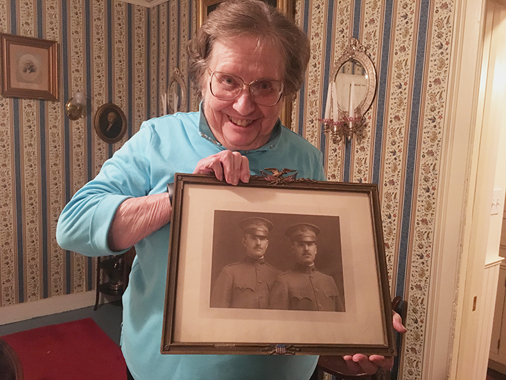 Cheshire resident archives family contributions to World War I