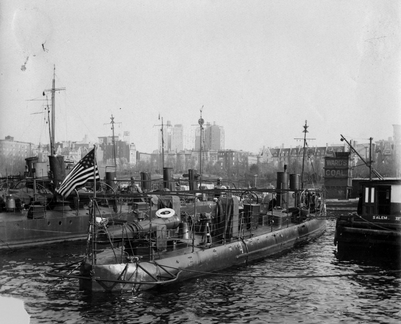 Submarine detection helped U.S. track enemy during WWI
