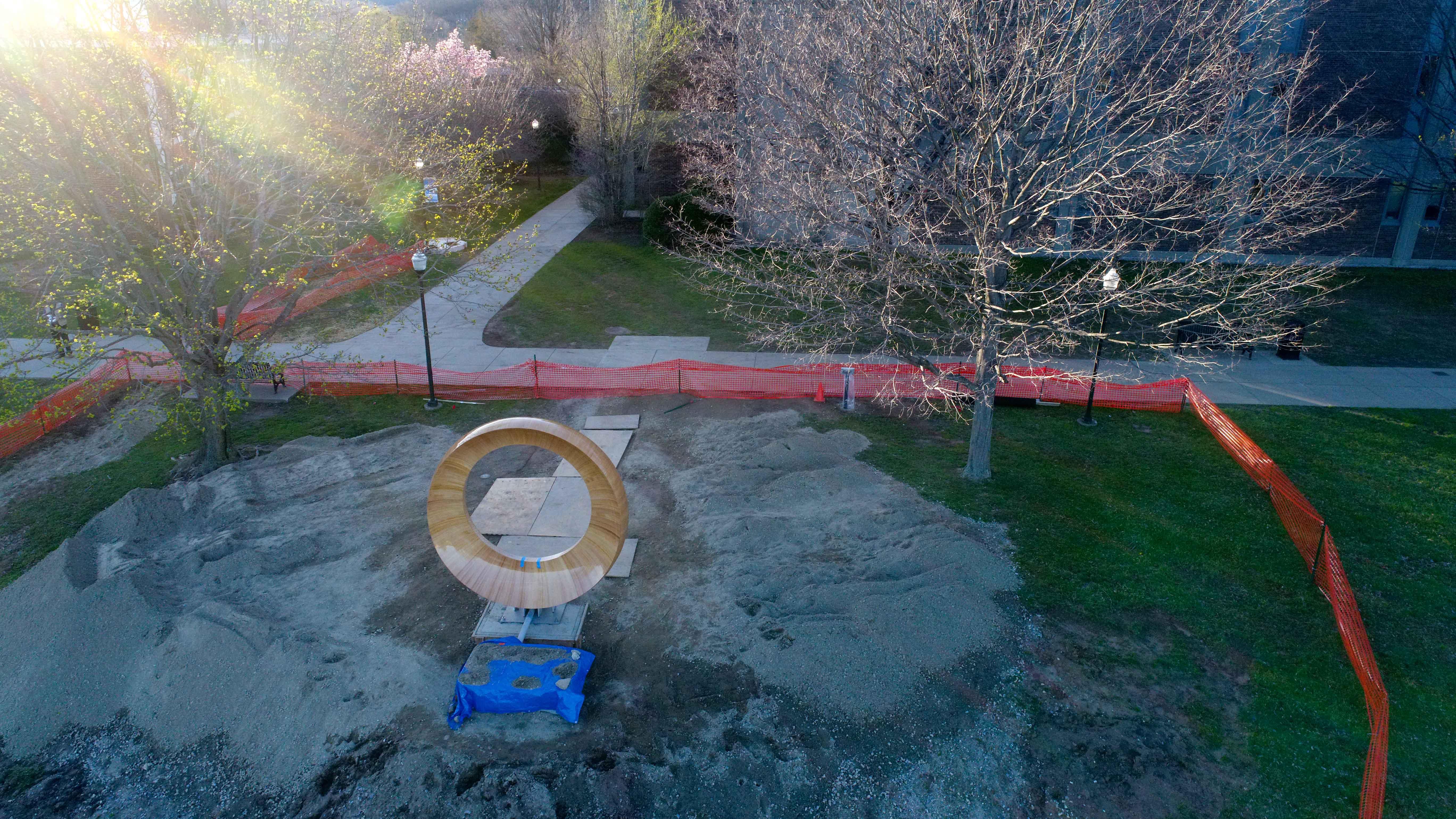 Journalism professor documents memorial build