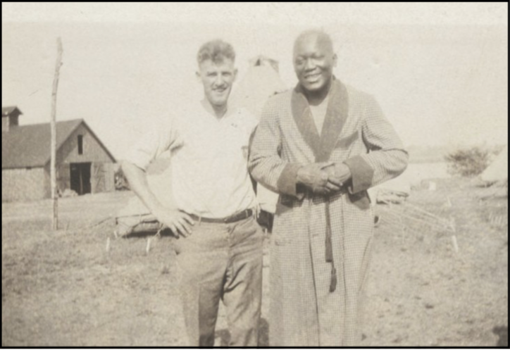 Former Heavyweight Champion fought at Camp Hines