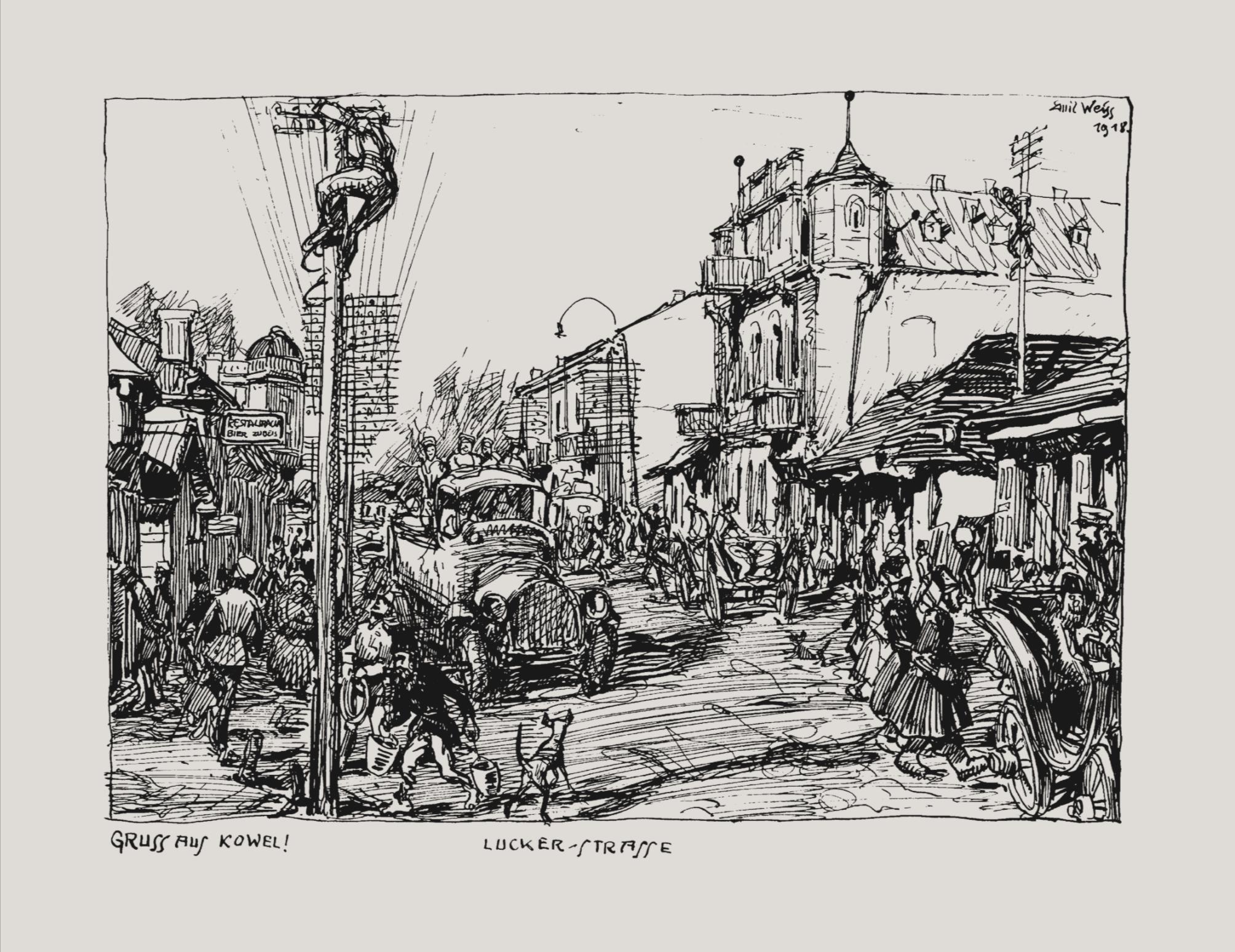 Emil Weiss documented World War I through art